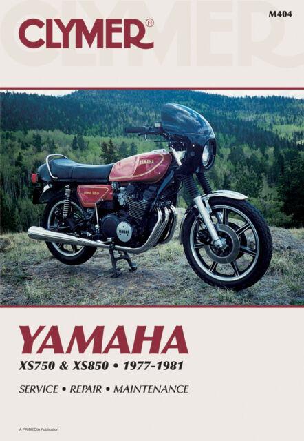 Clymer Repair Service Shop Manual Vintage Yamaha Xs750 Xs750 Ll Xs850  S