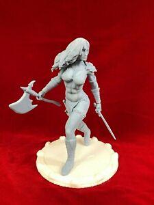 Red-Sonja-034-Comic-034-Fan-Art-Resin-Figure-Model-Kit-1-8-scale