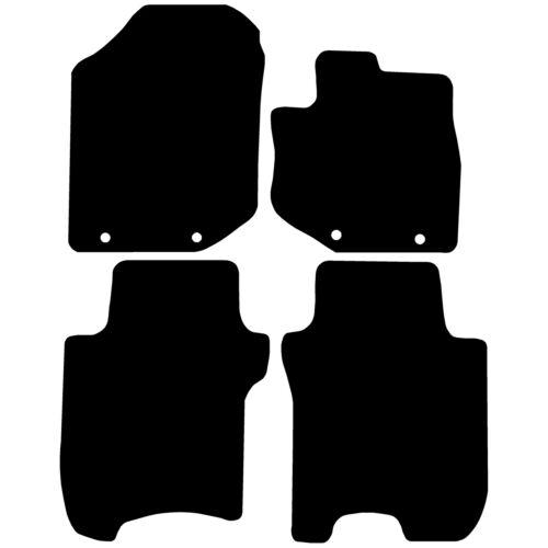 Car Mats Fully Tailored Black Floor Mats Honda Jazz 2012-2015