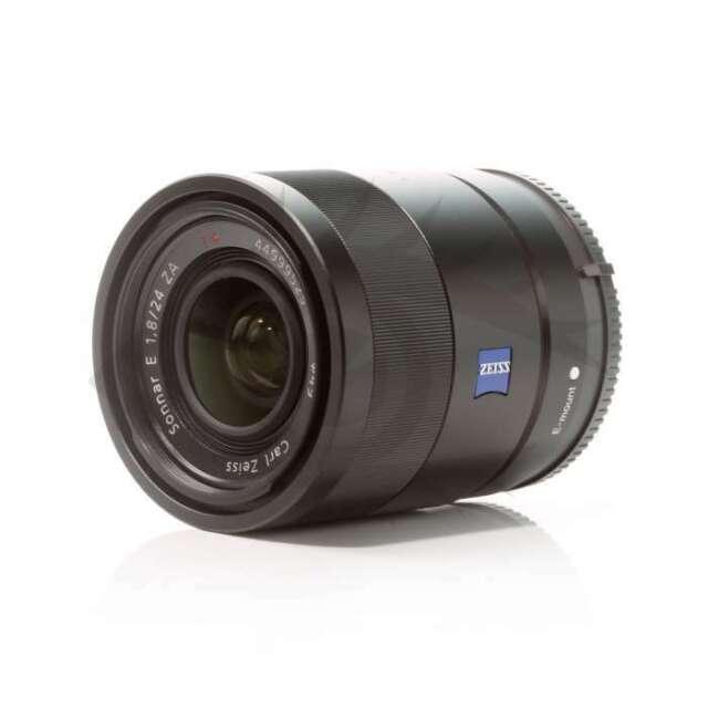 Autentico Sony Sonnar T* E 24mm F1.8 ZA E-mount Lens SEL24F18Z
