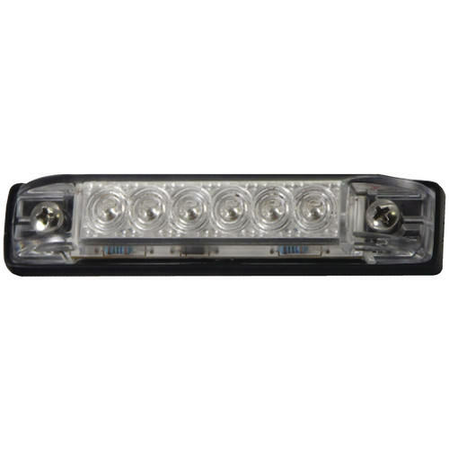 Marine//Boat Slim Line White Waterproof LED Utility Strip Light 12 Bulb
