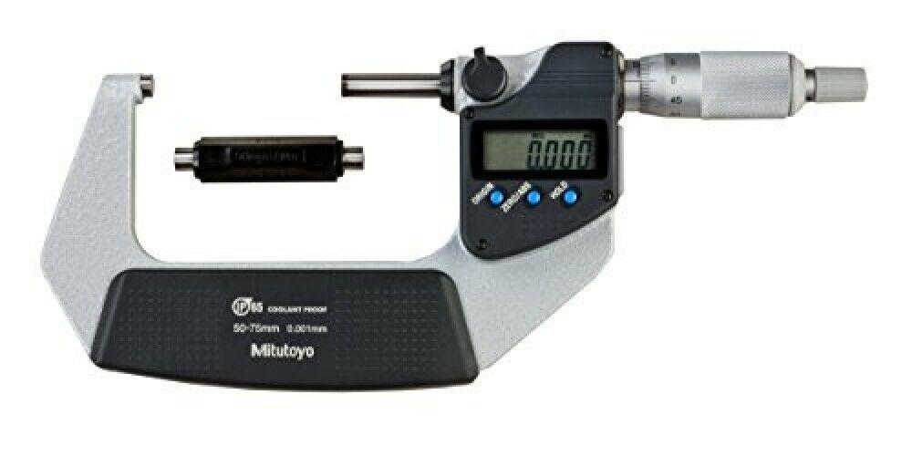 Mitutoyo Kühlflüssigkeit Beweis Mikrometer MDC-75MX 293-232-30 Messbereich