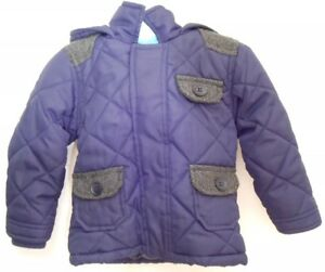 8bd111c46 Image is loading Baby-Boys-BHS-Hooded-Coat-Age-9-12-