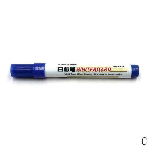 Große Weiße Tafel Whiteboard Marker Stifte Trocknen Marker Mit Clip Sortier M5H4