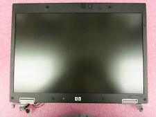 """HP Elitebook 8530P Genuine 15.4"""" LCD Screen Compelte Assembly 495044-001 Silver"""