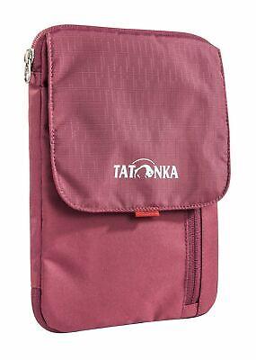 Importato Dall'Estero Tatonka Cross Body Bag Check In Folder Bordeaux Red