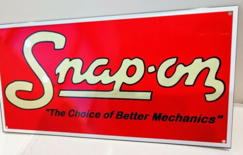 Snap On Tool Sign ...gas oil gasoline garage