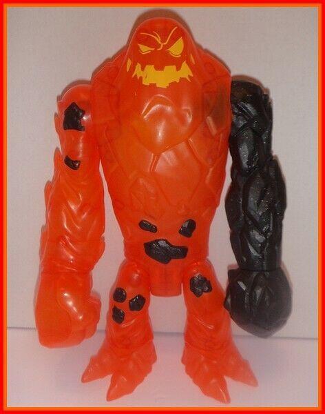 BATMAN UNLIMITED 2 MOLTEN MAYHEM CLAYFACE - COMPLETE - Lava Lava Lava Fire Figure DC 17b0f4