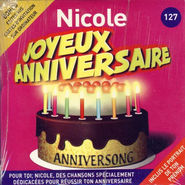 Joyeux Anniversaire Nicole 10 Titres