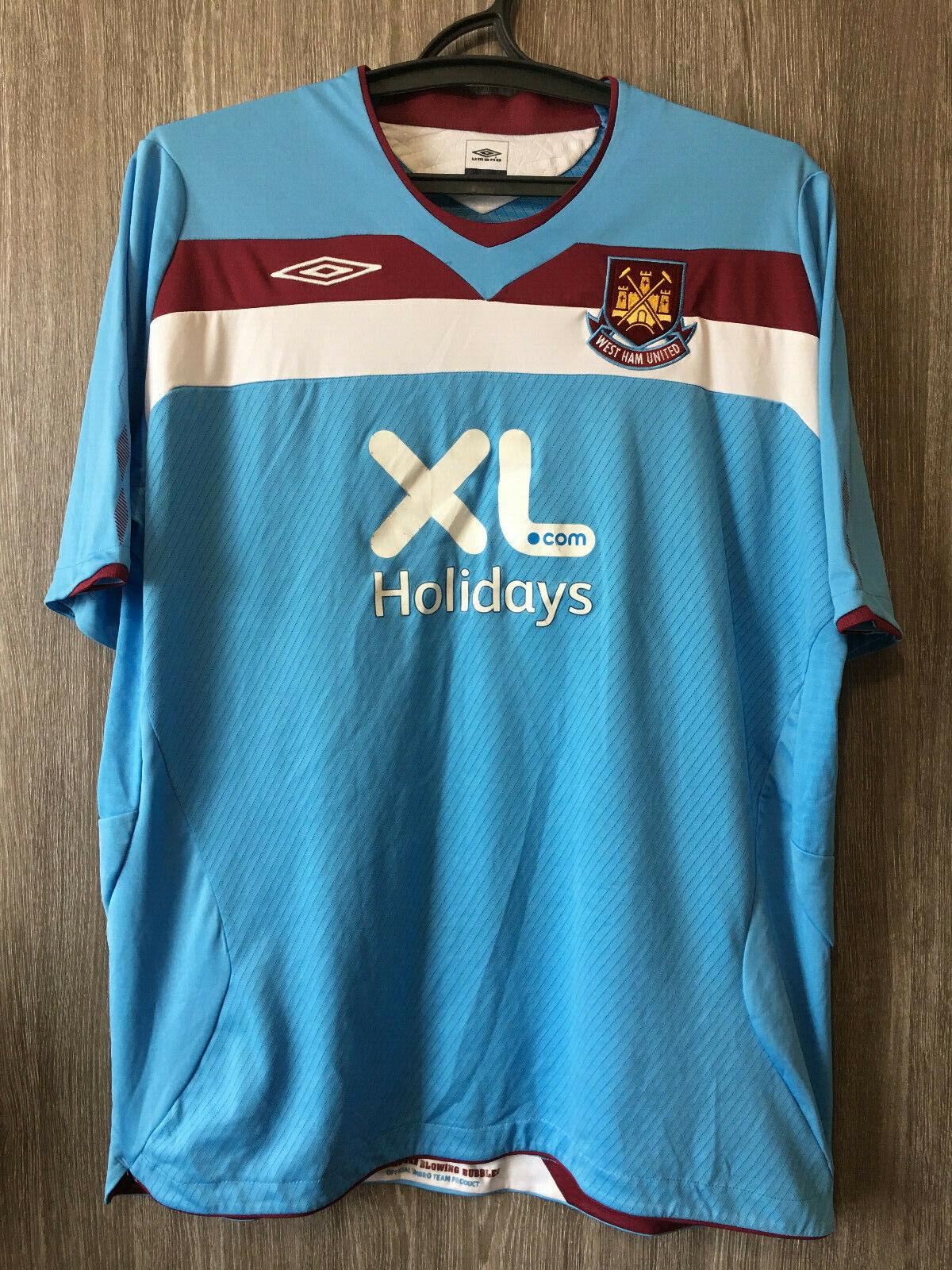 West Ham United Football Home Jersey Shirt Tee Top 2018 19 Womens Umbro
