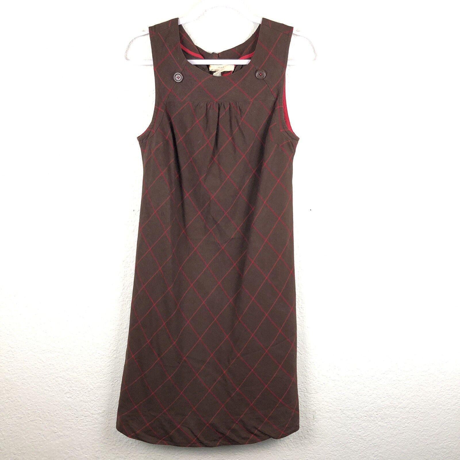 Maeve damen dress Größe 8 Sheath Anthropology 53% Silk Rare Times Table BSK