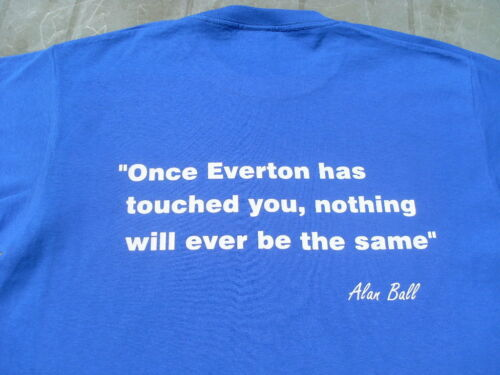 Everton Alan Ball T-Shirts /& Sweat Shirts 4XL /& 5XL Personalised Birthday Gift