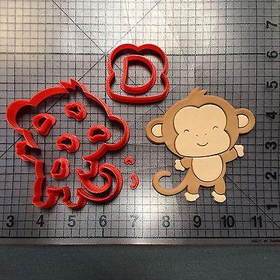 Baby Monkey 101 Cookie Cutter Set