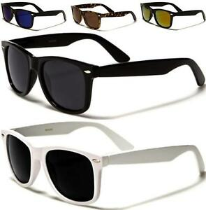 polarized sunglasses mens  NEW BLACK BROWN POLARIZED SUNGLASSES MENS LADIES WOMENS RETRO ...