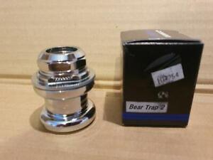 "Tioga Tange ~ Details about  /~ NOS VP Components Beartrap Style Road BMX Headset 1/"" JIS Black"