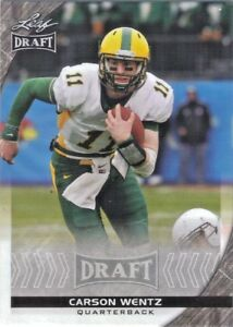 Details About 2016 Leaf Draft Carson Wentz Rookie Card Philadelphia Eagles