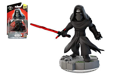 Disney Infinity 3.0 Star Wars The Force Awakens Lot of 2 Figs Kylo Ren and Yoda