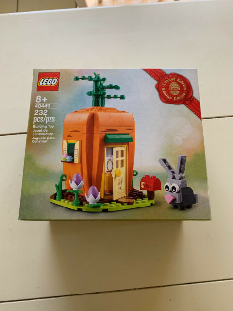 LEGO 40449 Easter Bunny's Carrot House **FREE SHIPPING**