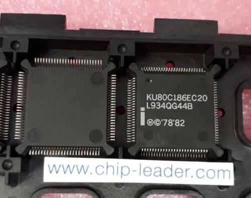 IC 20MHz 16-Bit Microprocessor CMOS PQFP-100 1x Intel KU80C186EC20