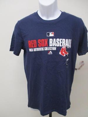 Sport Gewidmet Neu Boston Red Sox Jugendliche GrÖssen S/m/l/xl 10/12 14/16 18 Majestic Blau