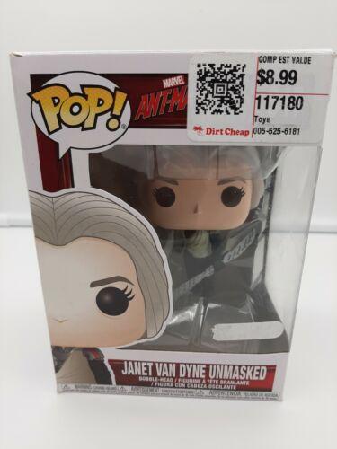 Ant-Man and the Wasp Free Ship Funko Pop Janet Van Dyne #347 Minor Box Damage