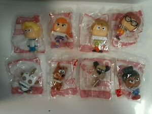 Complete-Set-of-8-Scooby-Doo-McDonald-039-s-Happy-Meal-Toys
