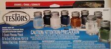 Testors Camo Flat Enamel Paint Set 9131XT