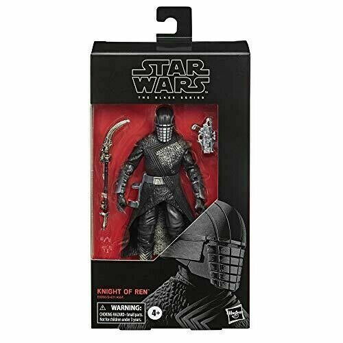 The Black Series Knight Of Ren 6-Inch Action Figure In Hand