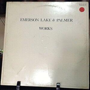 EMERSON-LAKE-amp-PALMER-Works-Volume-2-Released-1977-Vinyl-Record-Album-US-pressed