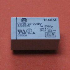 2 STK. DSP2a L2 DC12V PANASONIC RELAIS BISTABIL 12V DC - 2pcs.