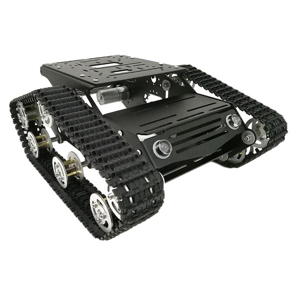 SERBATOIO IN LEGA Caterpillar intelligente  Robot Kit Telaio con ruota di Codice per Arduino  stanno facendo attività di sconto