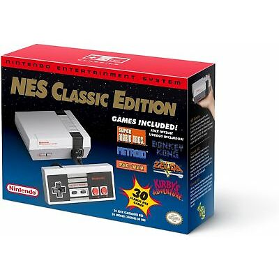 Nintendo NES Classic Edition Mini Console - 100% AUTHENTIC - In Retail Packaging