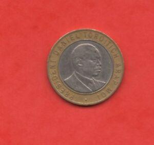 Republik Von Kenia - 10 Schilling 1994 Selten (139)
