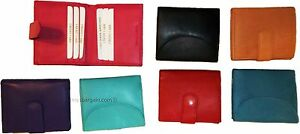 Woman-039-s-Wallet-Leather-Wallet-8-Cards-ID-Billfold-Coin-purse-Ladies-wallet-BN