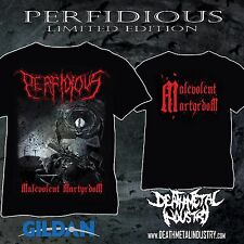 [T-SHIRT] PERFIDIOUS - Sadistic Intent Rottrevore Immolation Eulogy Hate Eternal
