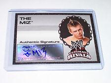 2008 Topps WWE Ultimate Rivals Authentic Autograph The Miz Mike Mizanin ECW