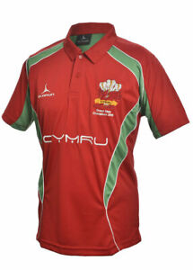 Details about Olorun Wales Grand Slam 2019 Rugby Supporters Red Iconic Polo  Shirt S - XXXXL