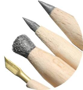 Complete-set-of-Andre-039-s-pencils-fantastic-cleaning-pencils-for-coins-and-relics