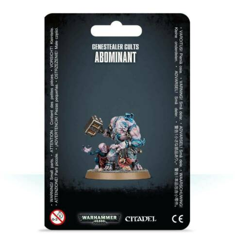 Abominant and Acolyte Iconward Warhammer 40K Genestealer Cults GSC