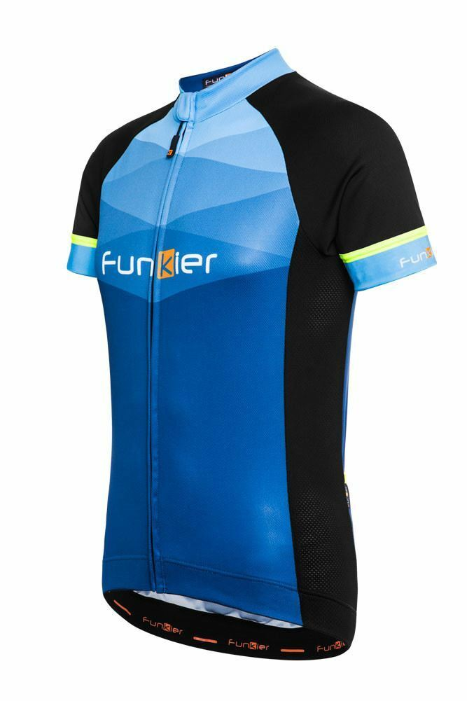 Funkier Men's  Spoleto Short Sleeve Cycling Jersey  order now lowest prices