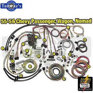 55 56 chevy classic update series complete body interior wiring rh ebay com