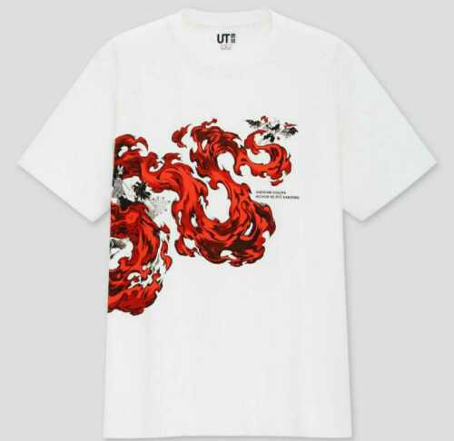 Japan UNIQLO UT Demon Slayer Collaboration T-shirt M JPN