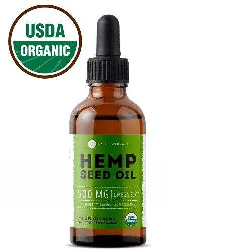 Organic-CBD-Hemp-Seed-Oil-Pain-Relief-Anxiety-Sleep-Aid-Mood-Skin-500-mg-Drops