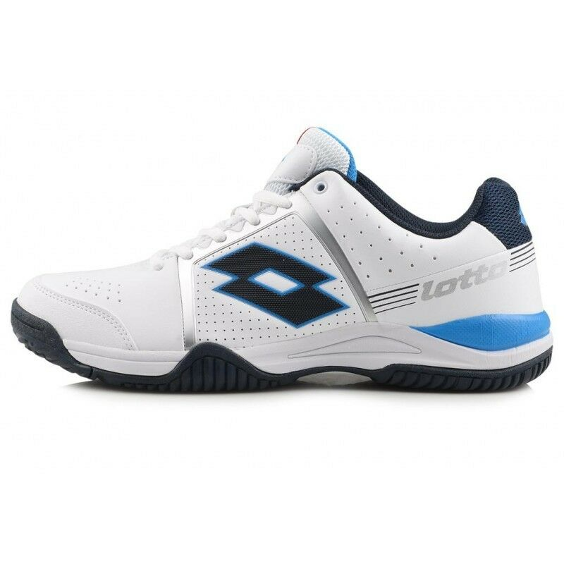 Lotto T-Tour III 600 R0021 Tennis shoes White   bluee Sizes Inside