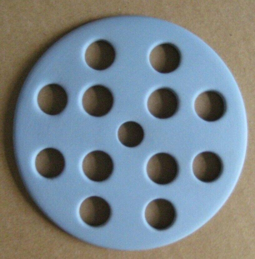Image 7 - Wedgwood Jasperware Blue Flower Vase with Frogger
