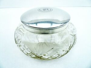Cut Glass amp Silver Powder Bowl Large Size 900 Grade VintageAntique - Grangemouth, United Kingdom - Returns accepted Most purchases from business sellers are protected by the Consumer Contract Regulations 2013 which give you the right to cancel the purchase within 14 days after the day you receive the item. Find out more ab - Grangemouth, United Kingdom