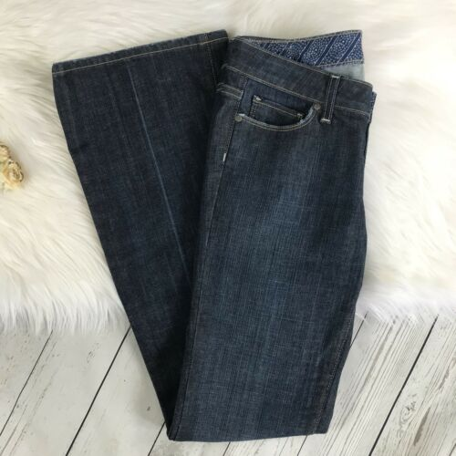 Paige Canyon Femme Guc Taille Flare Jeans Darkwash Laurel 28 ZZPwrqTx