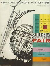 PROGRESS REPORT #9 - New York World's Fair 1964-1965 Corporation
