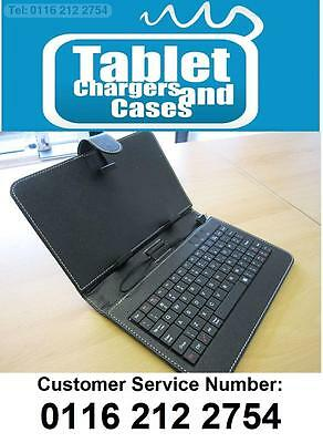 BLACK USB Keyboard PU Leather Carry Case/Stand for Google Nexus 7 Android Tablet
