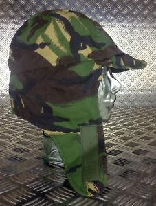 Genuine-British-Army-Goretex-MVP-Woodland-DPM-Dog-Trapper-Hat-with-Ear-Flaps